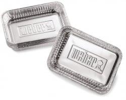 Weber Aluminium lekbakjes klein