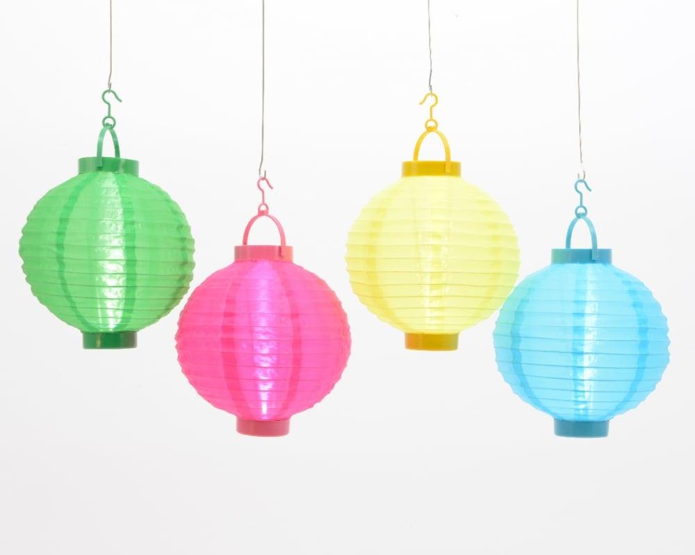 Lumineo LED nylon lantaarn