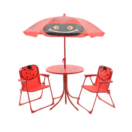 ML Lieveheersbeestje Kindertuinset - Rood