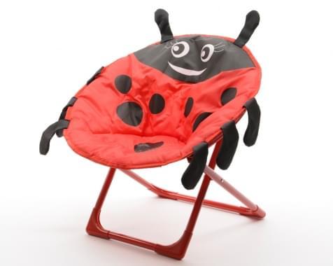 Decoris Kinderstoel lieveheersbeestje