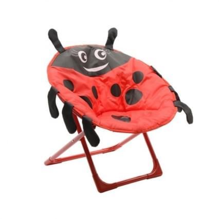 Decoris Lieveheersbeestje Kinderstoel - Rood