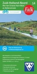ANWB 14. Fietskaart Zuid-Holland-Noord (met Groene Hart-West en Bollenstreek)