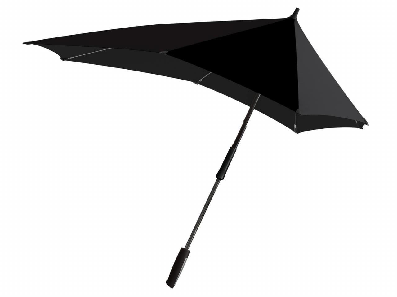 Senz XXL stormparaplu pure black