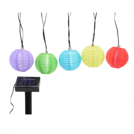 ML LED solar rond lantaarn