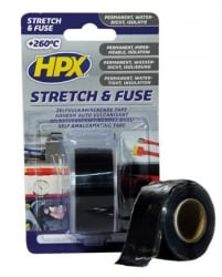 HPX HPX Stretch & Fuse tape transparant