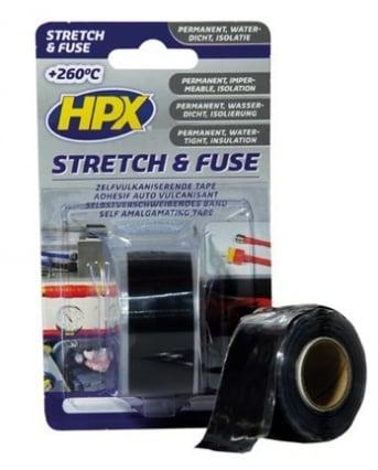 HPX HPX Stretch & Fuse tape transparant
