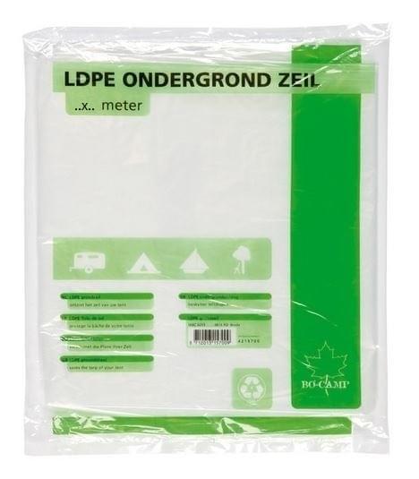 Bo-Camp Ondergrondzeil LDPE 2x3mtr