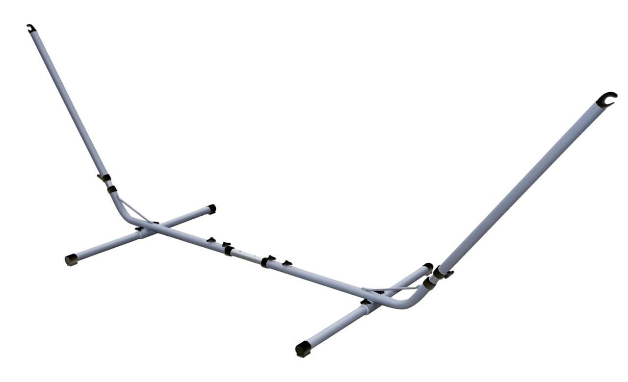 Bo-Garden Hangmatstandaard Zilver Verstelbaar