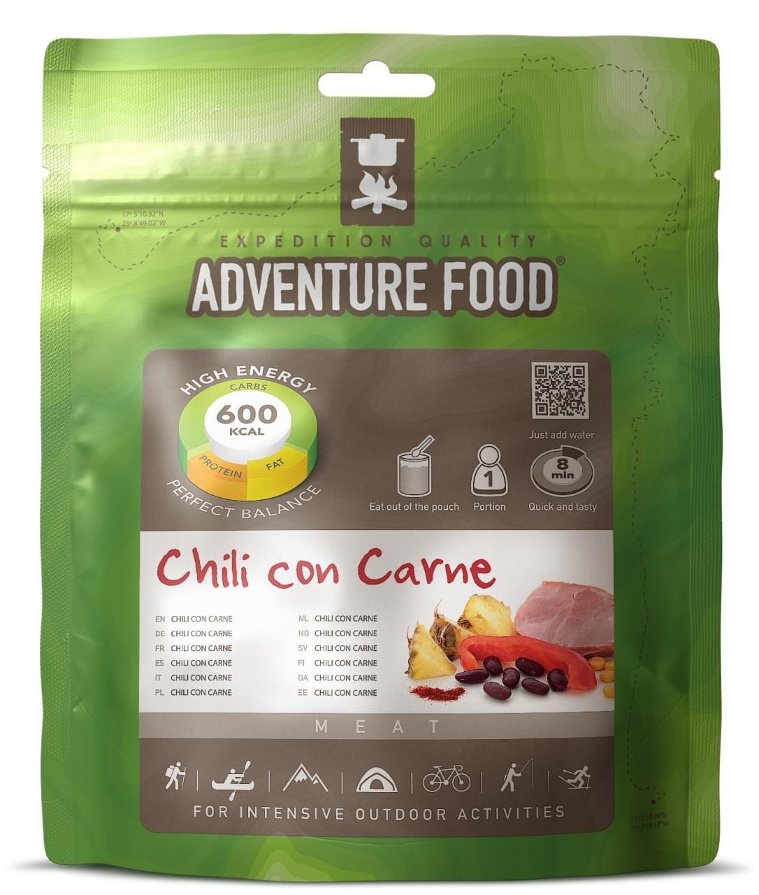 Adventure Food Een portie Chili con Carne
