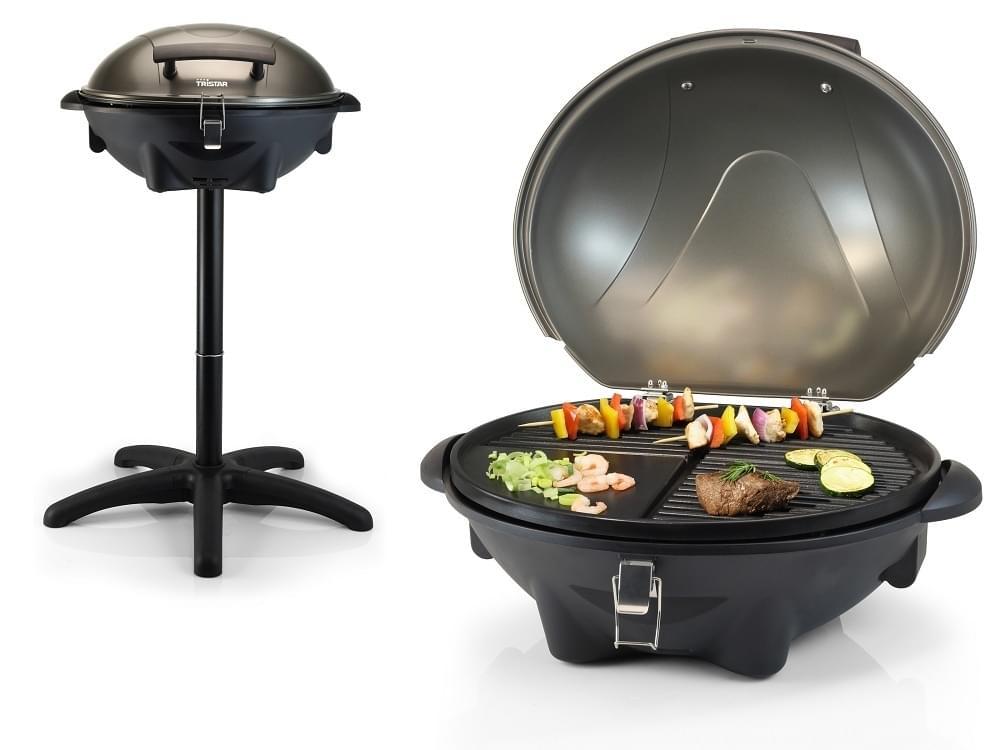 Tristar Elektrische Barbecue op statief