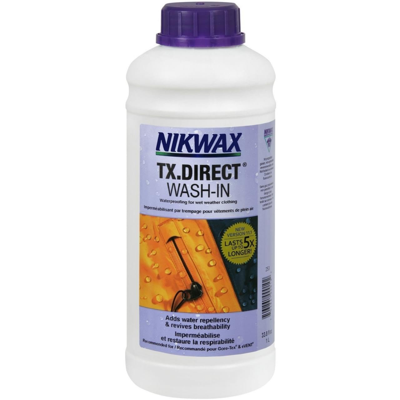 Nikwax Tx direct 1ltr Impregneermiddel