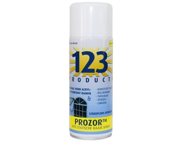 123 Prozor Antistatische Raamspray