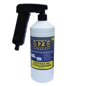 123 Superwax UV met Supersprayer