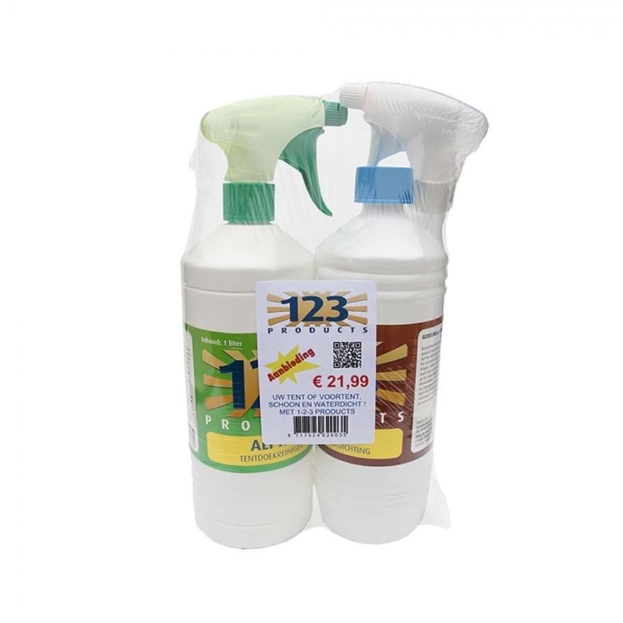123 Pakket Alpha Dry Reiniger & Impregneer