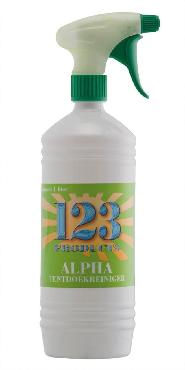 123 Alpha Tentdoekreiniger