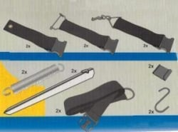 Bo-Camp Unica Tie Down Set