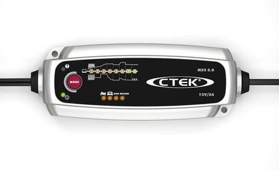 Ctek Acculader MXS 5.0T
