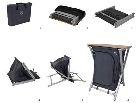 Defa Easy Folding Campingkast