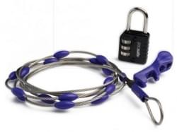 WrapSafe  adjustable cable lock