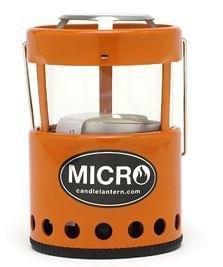 Adola Uco Micro Candle Lantern Orange