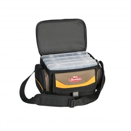 Berkley System Bag  met 4 Tackle Boxen