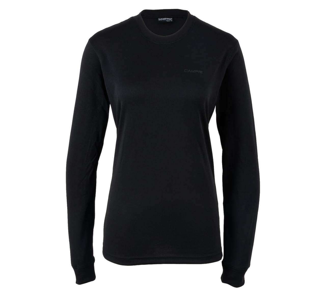 Campri Ladies L/S Thermal Top Black