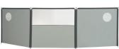 Isabella Flex Grey 3-delig Windscherm