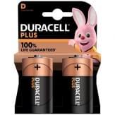 Duracell Plus Alkaline D Batterijen
