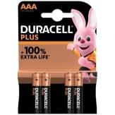Duracell Plus Alkaline AAA Batterijen