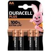 Duracell Plus Alkaline AA Batterijen