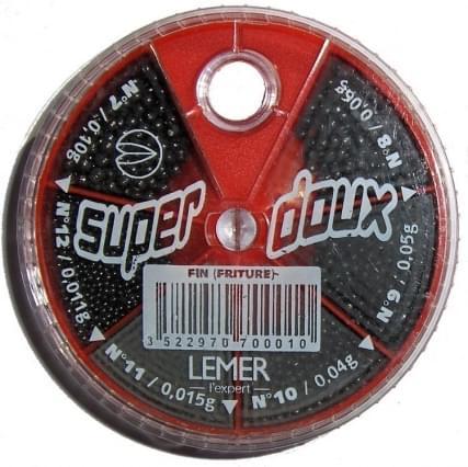 Lemer Lemer 90gr. 6-vaks Fijn (Rood)