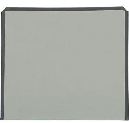 Isabella Uitbreiding Deel B Flex Grey Windscherm - Grijs