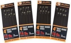 Korda Guru bait band rigs 4 inch size14