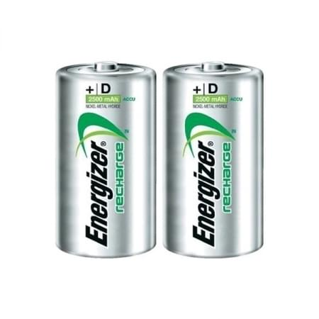 Energizer Oplaadbare batterijen D 2 stks
