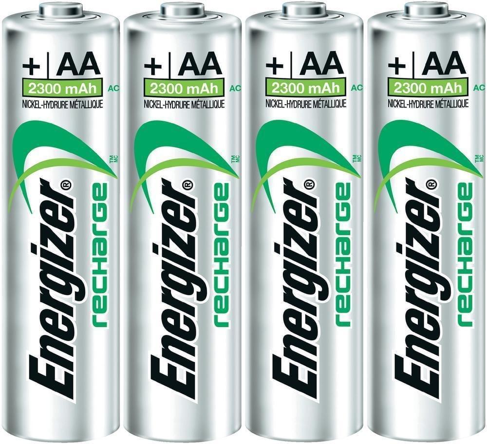 Energizer Oplaadbare batterijen AA 4 stks