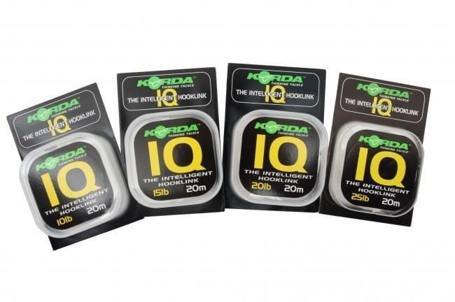 Korda Korda IQ Fluorocarbon Hooklink 15lb