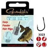 Gamakatsu GMAKATSU BKS-3323B FEEDER HAIR RIGS