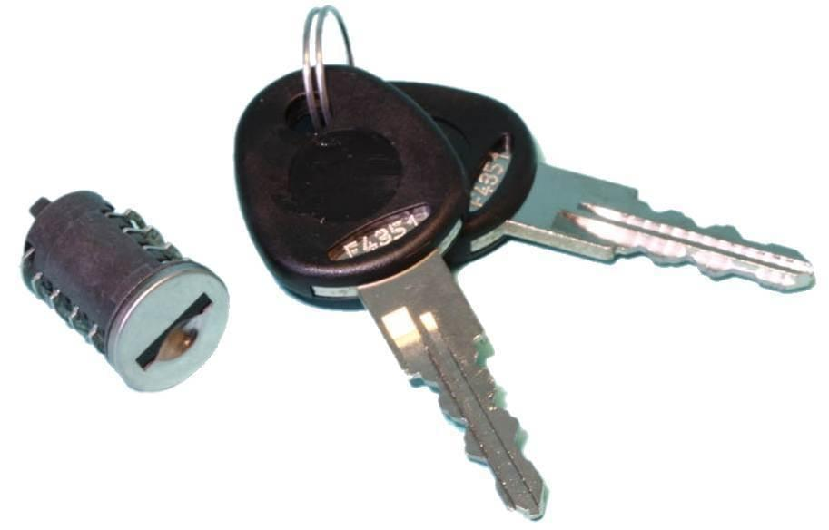OCS Cilinder HSC systeem met 2 sleutels