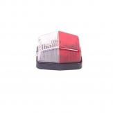 OCS Breedtelicht rood/wit 71 x 61 mm