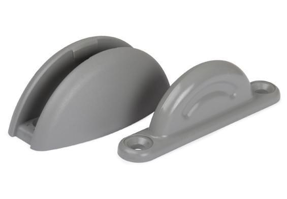 Plopp Deurvanger 2dlg Plopp grijs