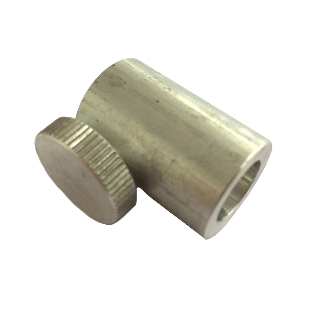 OCS Buisklem metaal met knop