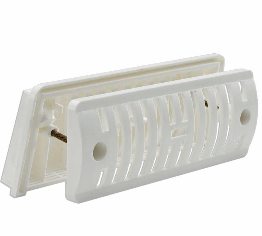 OCS Ventilatierooster inbouw wit