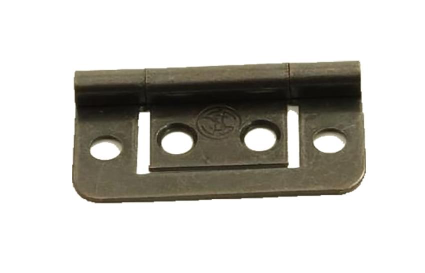 OCS Scharnier 38 mm vlak brons