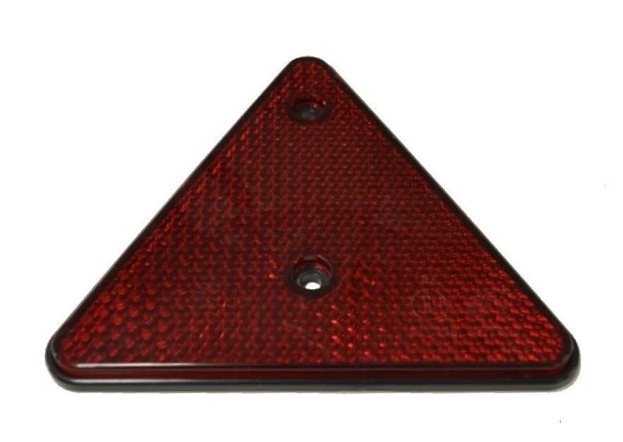 OCS Driehoekreflektor rood