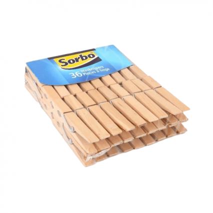 Sorbo Wasknijpers hout