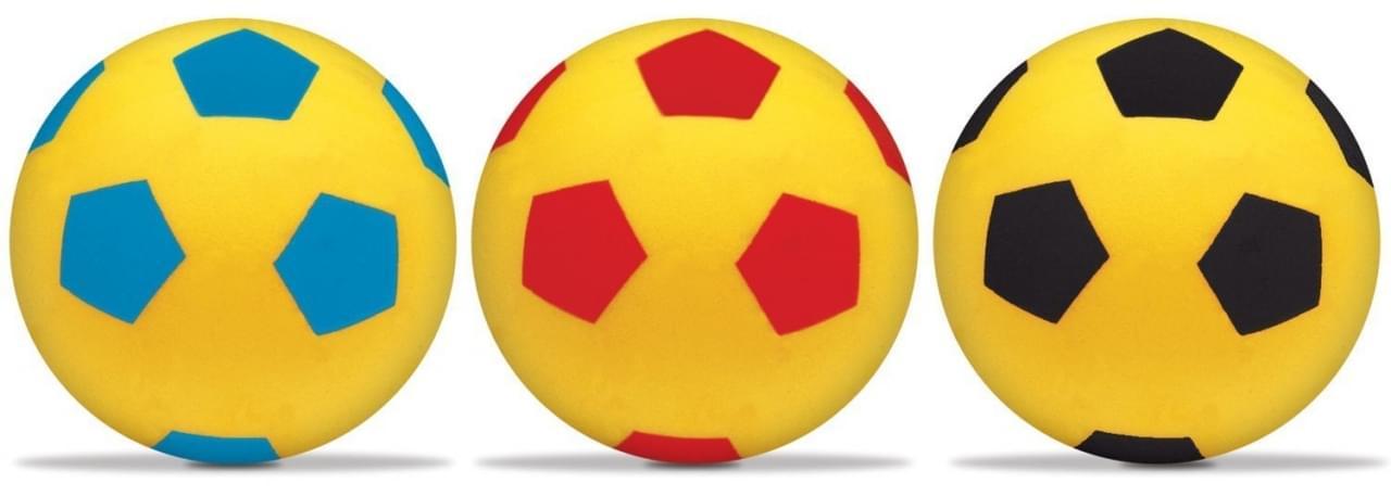 Soft Voetbal 20cm 3ass