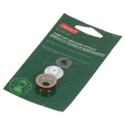Coleman Pump Cup and Back-Up Plate