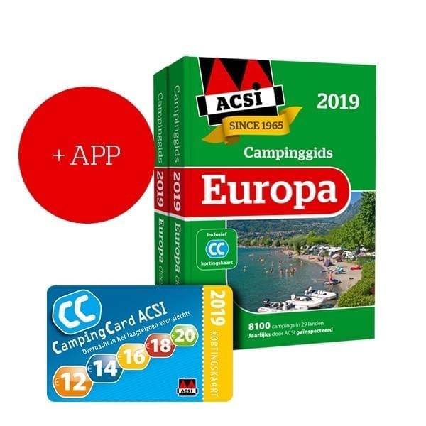 ACSI Europa Campinggids + App 2019