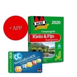 ACSI Klein & Fijn Kamperen Campinggids + App 2020