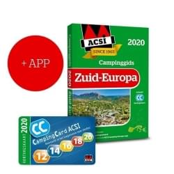ACSI Campinggids Zuid-Europa + App 2020